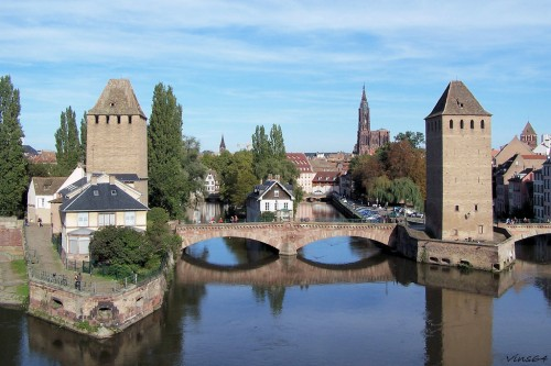 Les Ponts Couverts - Strasbourg